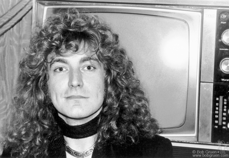Robert Plant, NYC - 1976