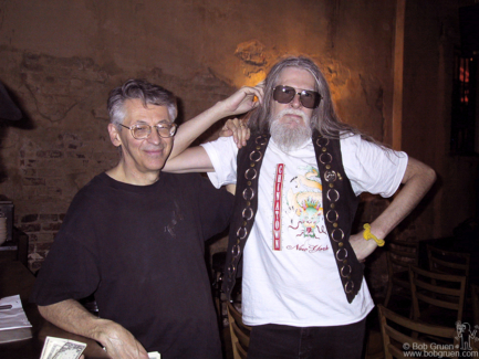 Peter Stampfel and Steve Weber, NYC - 2001